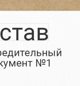 ИП ООО подготовка учредительных документов