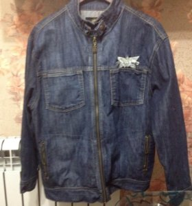 Джинсовая куртка 50 размер