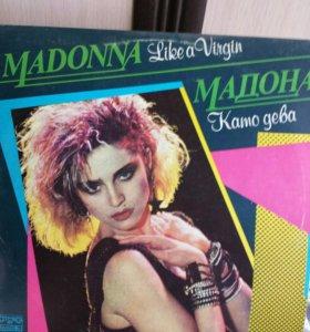 Пластинка Мадонна