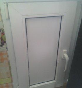 Ниша пвх под кухоное окно