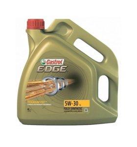 Масло 5W30 Castrol EDGE LL моторное синтетика 4L