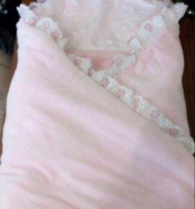 Комплект на выписку с одеялом (Весна)