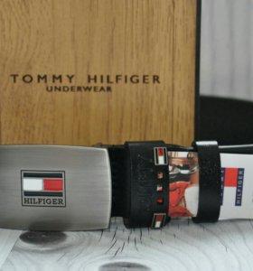 Ремень Tommy Hilfiger из натуральной кожи