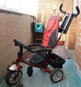 Детский трехколесный велосипед Lucky Trike