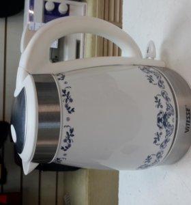 Чайник электрический Керамика 1.7л 2000Вт Новый