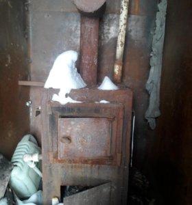 Печка котел