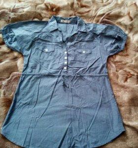 Рубашка для беременных женская