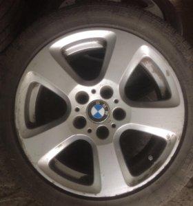 Шины с дисками на BMW 5