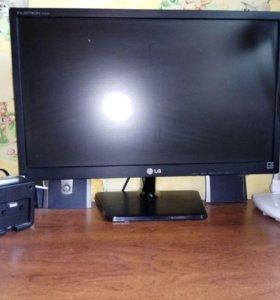 Компьютер Acer и монитор LG