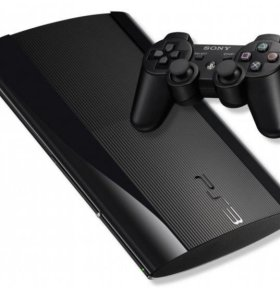 SONY PLAYSTATION 3 SUPER SLIM 500Гб + Геймпад