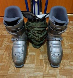 Лыжи горные К2 с ботинками.