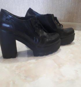Ботинки женские нат.кожа