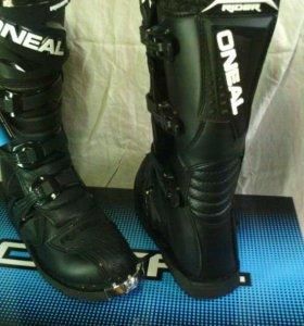 Кроссовые мотоботы O'Neal Rider Boots