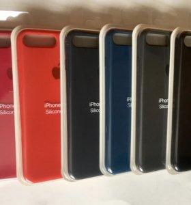 🔴Оригинальные силиконовые чехлы на iPhone 7+/8+🔴