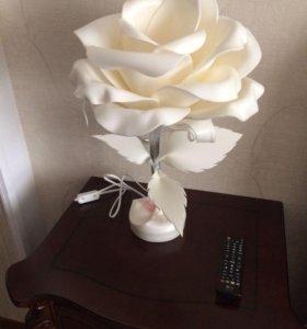 Роза - светильник