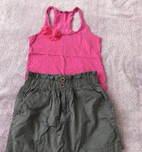 Топ и юбка 42-44