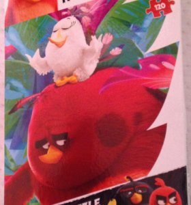 Пазл новый Angry Birds, 120 элементов