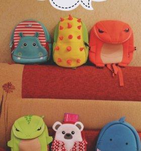 Детские 3D рюкзачки nohoo (3-10лет)