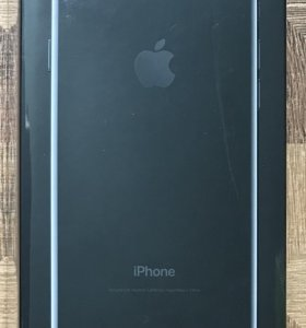 iPhone 7 32Gb jet black новый офиц