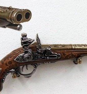 Макет двухствольного пистолета