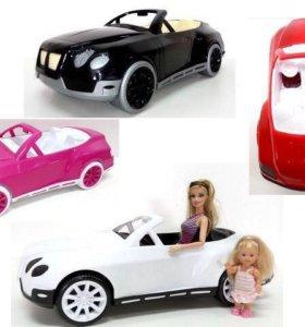 Машина для кукол. Кабриолет(новая)