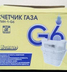 Счётчик газовый G6