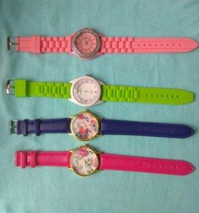 Нежные весенние наручные женские часы. Новые