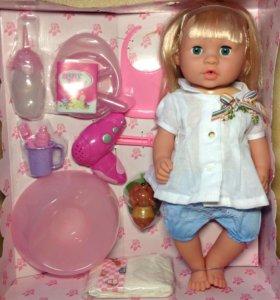 Кукла Анюта 15 функций (Беби Борн)