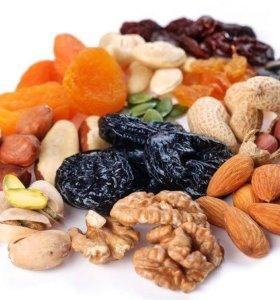 Сухофрукты и орехов Оптом в розницу