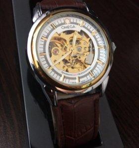 Часы Omega(Омега) скелетон