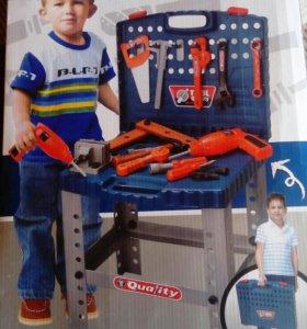 Детский набор инструментов новый