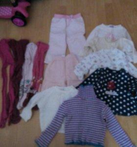 Вещи для девочки пакет