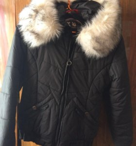 Куртка зимняя подрастковая