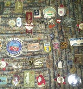 Значки,жетоны,эмблемы.