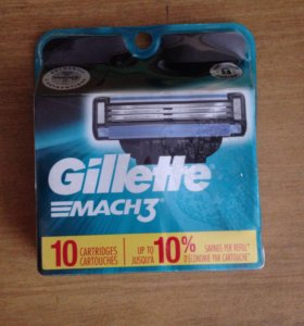 Gillette Mach3 (made in USA)