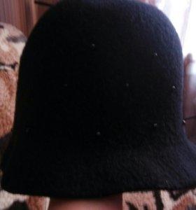 Шляпка шерсть