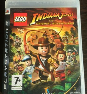 PS3 Игра Lego Indiana Jones