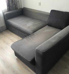 Угловой диван-кровать Ikea
