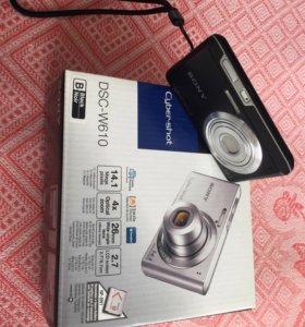 Цифровой фотоаппарат Sony DSC-W610 black