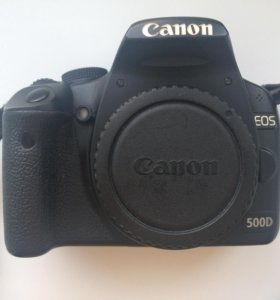 Canon 500d + 18-55 mm IS