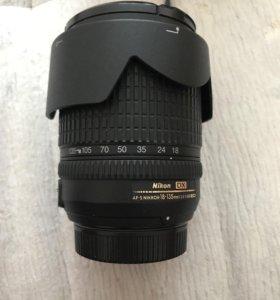 Объектив Nikon 18-135