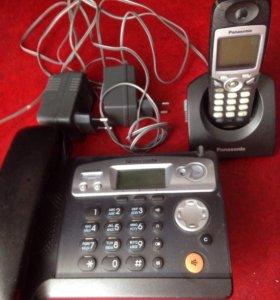 Телефон Panasonic стационарный беспроводной