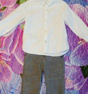 Рубашка и брюки Zara