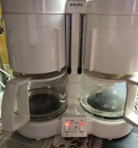 Кофеварка KRUPS на две колбы