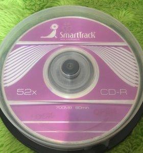 9 новых дисков CD-R