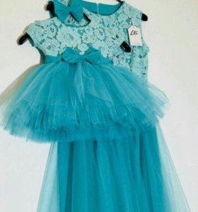 Платья для мамы и дочки 1 год