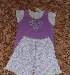 пижама для девочки новая