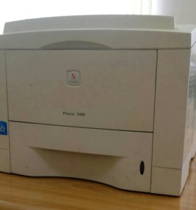 Лазерный принтер Xerox Phazer 3400 с новым картриж