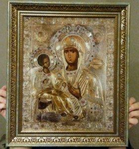 Афонская икона Пресвятой Богородице Троеручитца