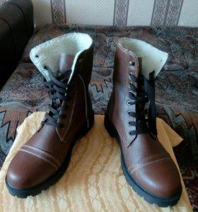 Новые  Ботинки демисизонные